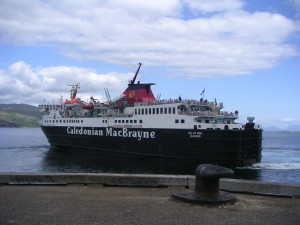 MV Isle of Mull leaving Craignure
