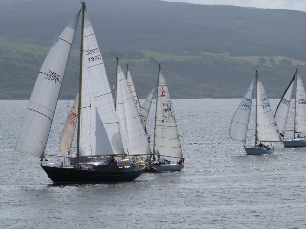West Highland Yachting Week off Calve Island