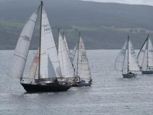 West Highland Yachting Week off Calve Island